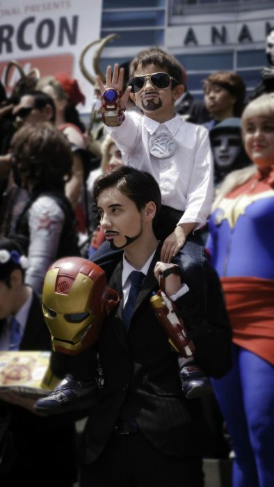 The Best Costumes From Wondercon 2014 (37 pics)
