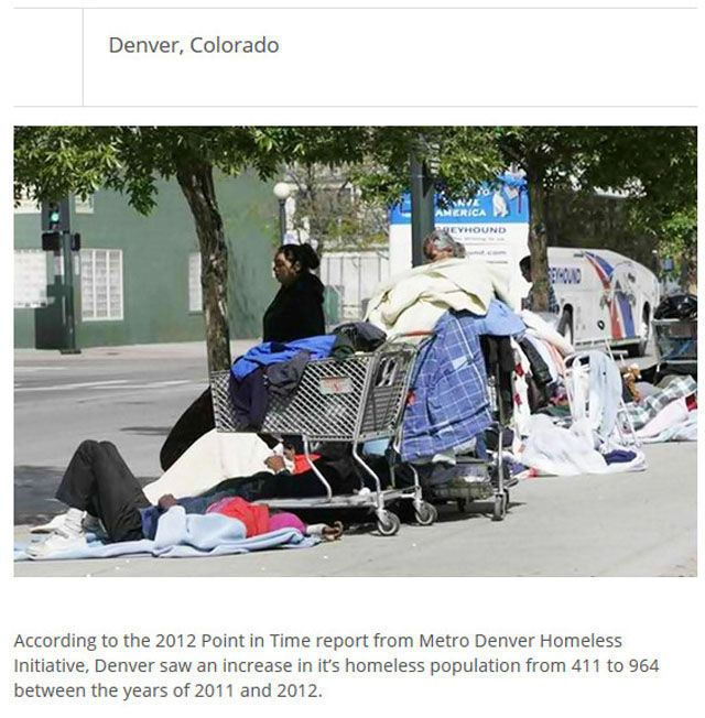 What Cities Have The Most Homeless People? (25 pics)