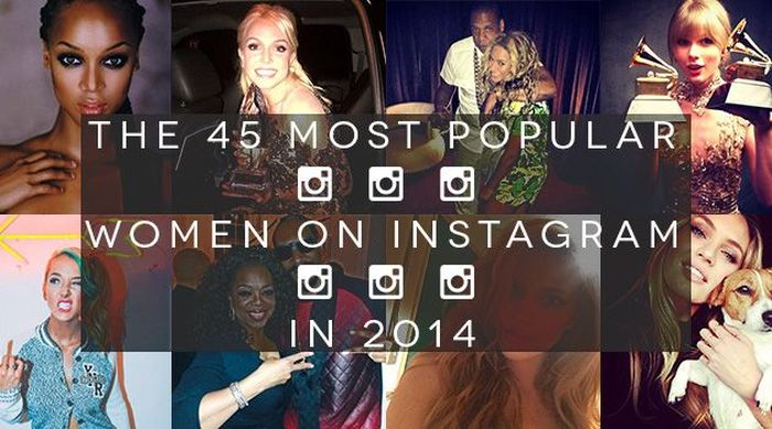 These Are The 45 Most Popular Women On Instagram (45 pics)
