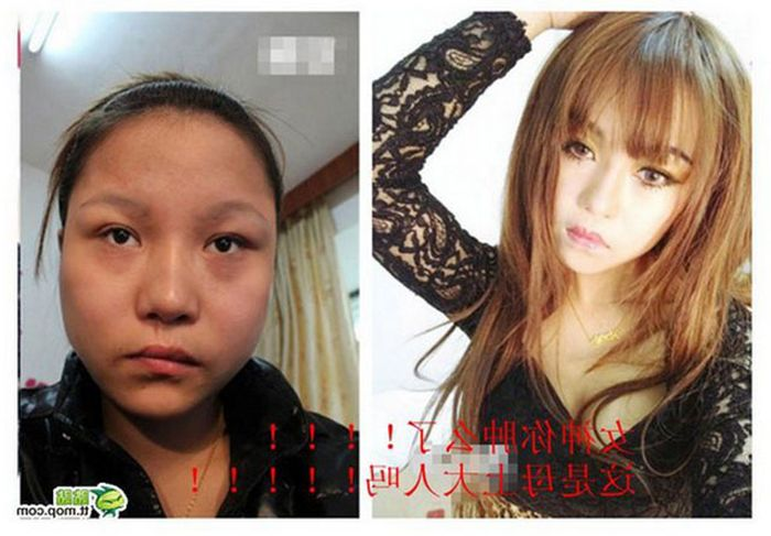 Makeup Makes A Big Difference Sometimes (18 pics)