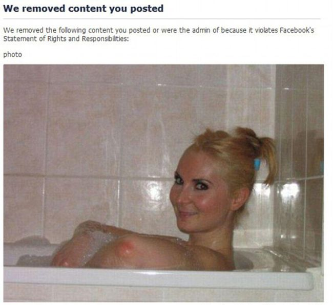 Facebook Banned These Photos, Were They Wrong? (14 pics)
