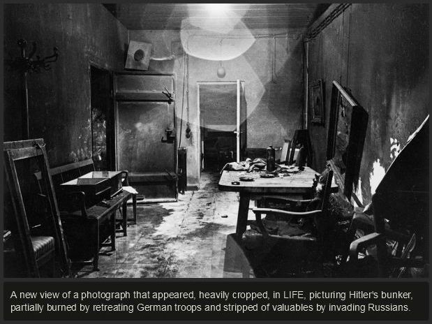 Creepy Photos Of Hitler's Secret Bunker (19 pics)