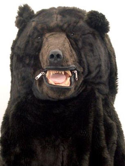 You Need This Grizzly Bear Sleeping Bag (6 pics)