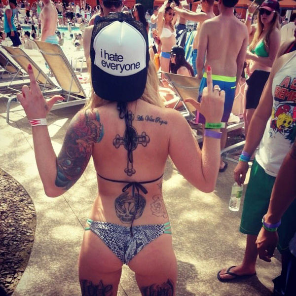 You Wish You Were At This Pool Party (44 pics)