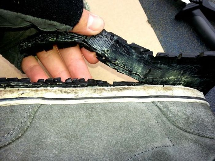 Old Tires Can Make Your Sneakers Brand New Again (16 pics)
