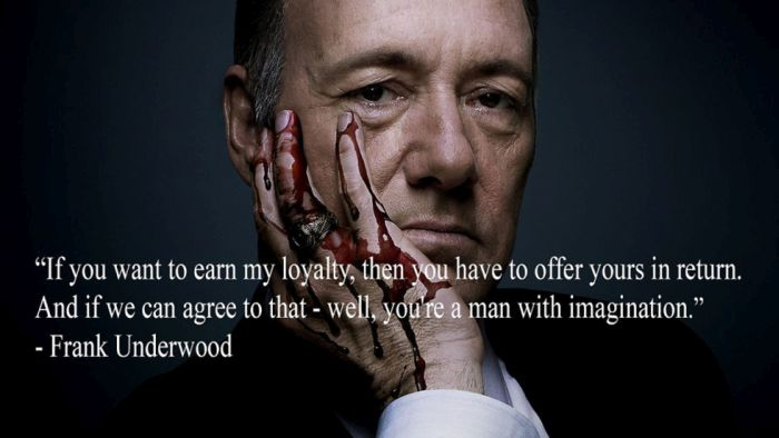 Cool Quotes From House Of Cards' Frank Underwood (16 pics)