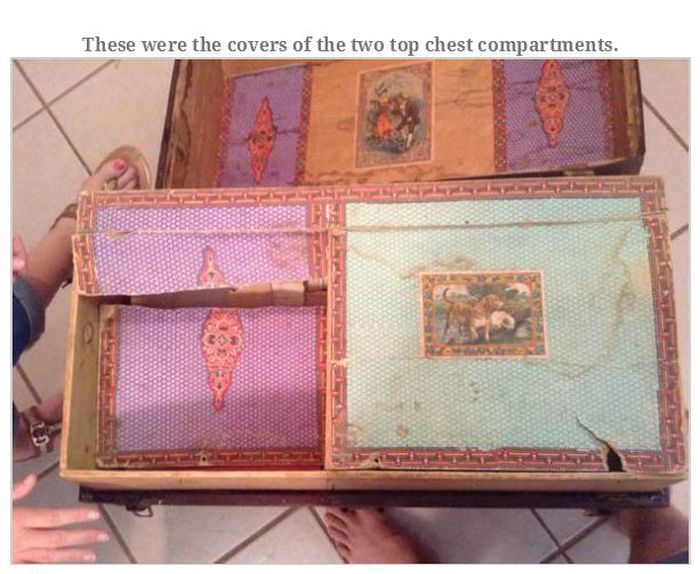 Old Man Leaves Behind Fascinating Treasure Trunk (35 pics)