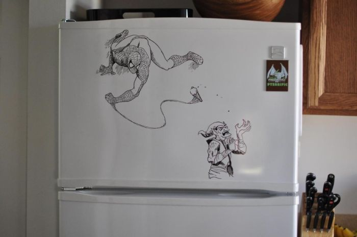 This Artists Turns Refrigerators Into Epic Works Of Art (40 pics)