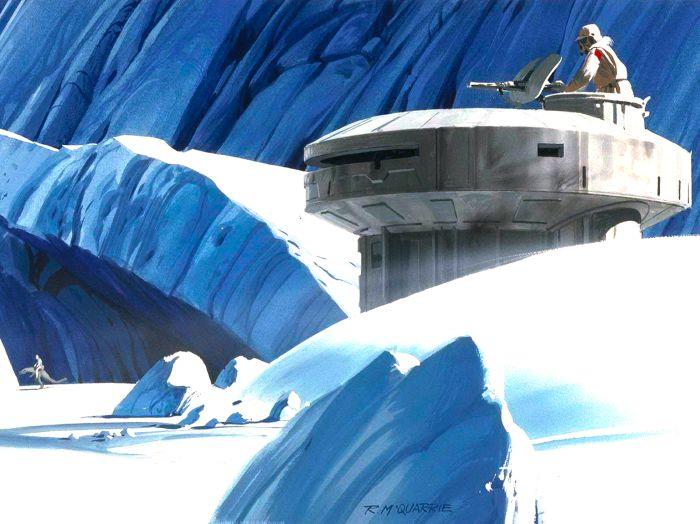 Ralph McQuarrie Makes Epic Star Wars Art (58 pics)