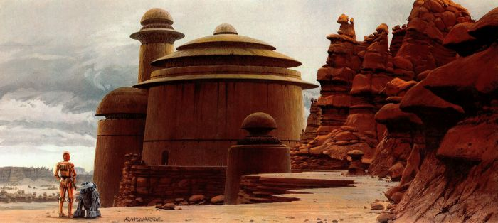 Ralph McQuarrie Makes Epic Star Wars Art (58 pics)