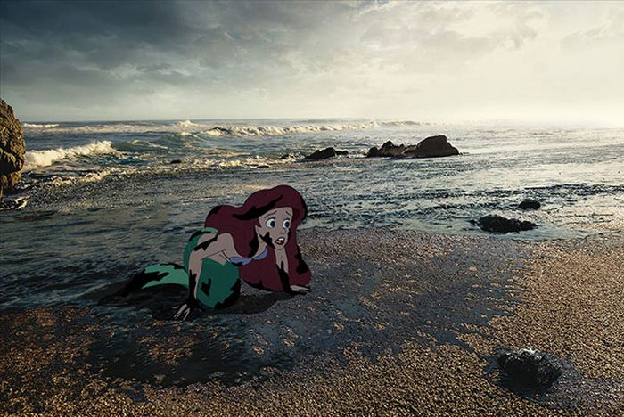 A Realistic Look At The Lives Of Disney Characters (11 pics)