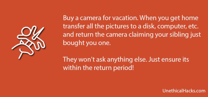 Completely Unethical Life Hacks (40 pics)