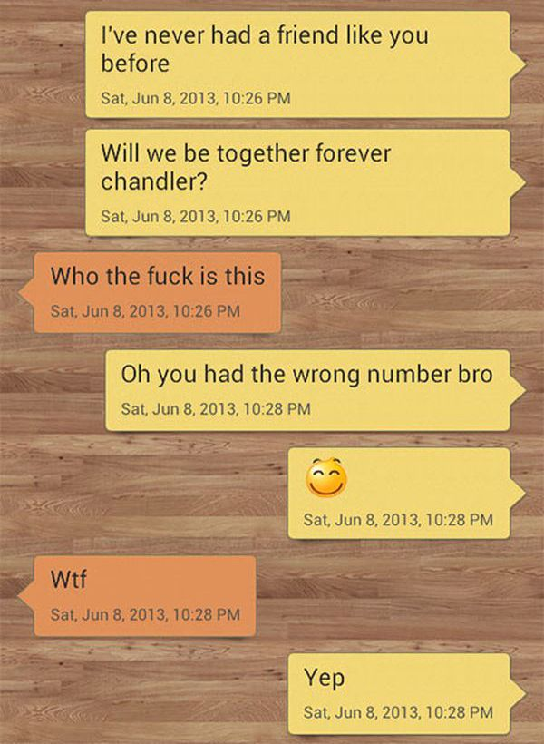 Wrong Number Text Gets Trolled Big Time (9 pics)