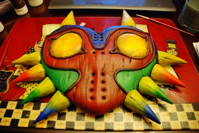 A Real Life Majora's Mask From Legend Of Zelda (15 pics)
