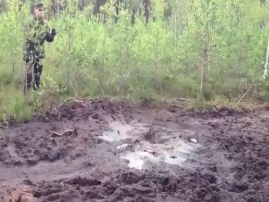 Puddles Can Be Much Deeper Than You Think They Are