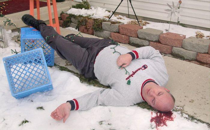 Nobody Plays Dead Like Dead Body Guy (17 pics)