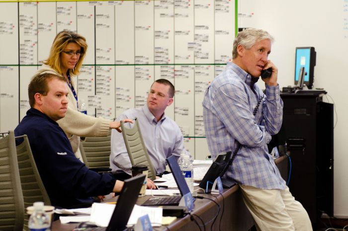 Get An Inside Look At The NFL Draft War Rooms (17 pics)