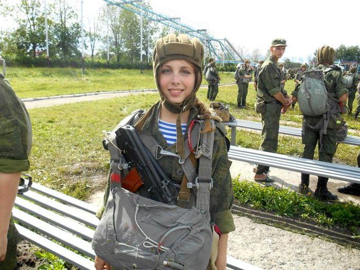 Sexy Russian Soldier Julia Harlamova (42 pics)