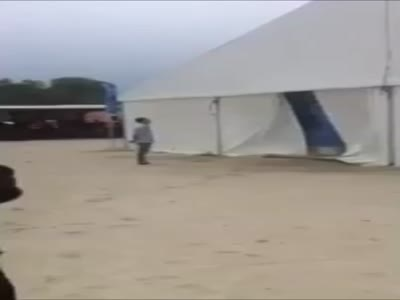 Guy Dances At His Own Party