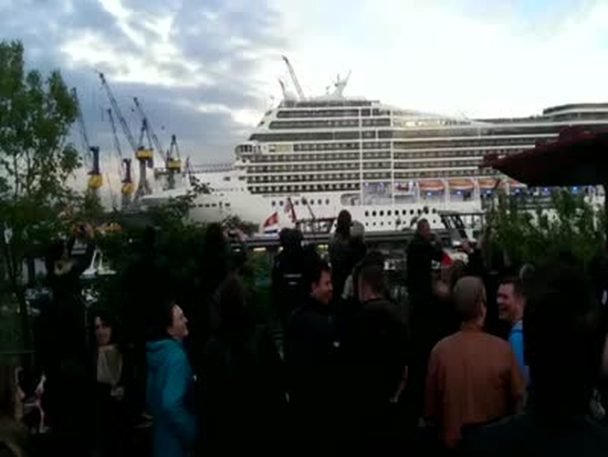 'Seven Nation Army' Cover On A Cruise Ship Horn