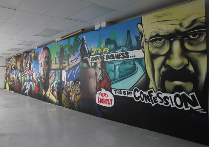 The Most Amazing Breaking Bad Street Art Ever (30 pics)
