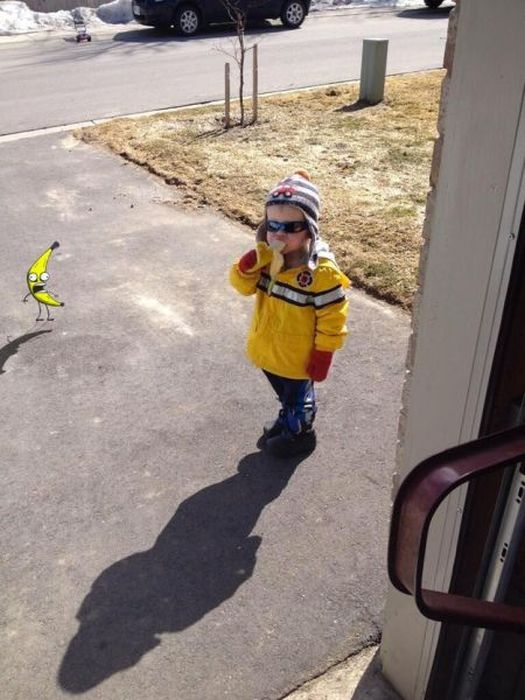 Boy Eating a Banana Is The Newest Meme Sensation (28 pics)