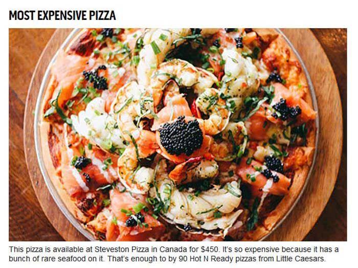 Unimpressive Guinness World Records For Food (10 pics)