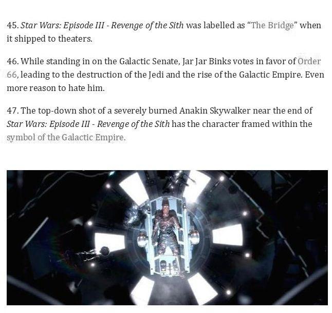58 Star Wars Facts From A Galaxy Far Far Away (19 pics)