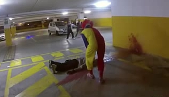 Scary Clown Prank
