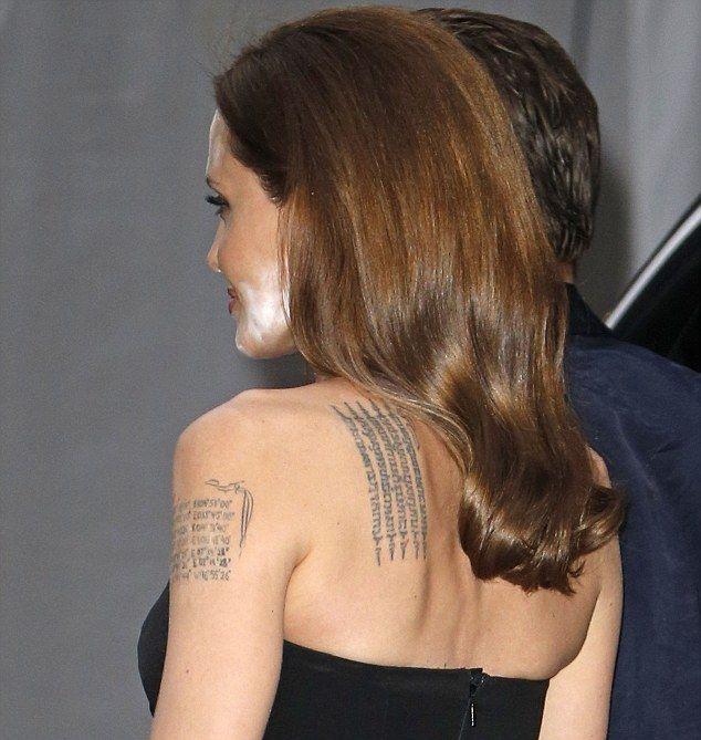 Angelina Jolie's Biggest Makeup Mistake (5 pics)