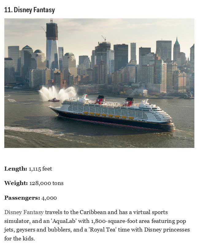The Coolest And Biggest Cruise Ships On The Planet (11 pics)