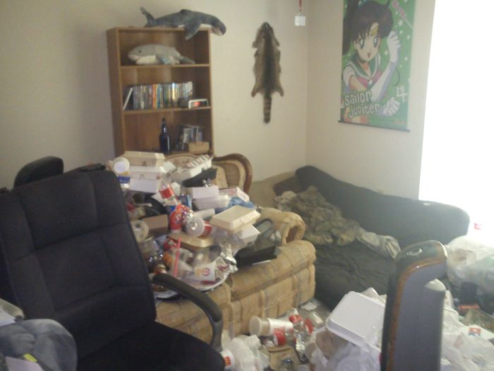 Roommate Refuses To Clean (6 pics)