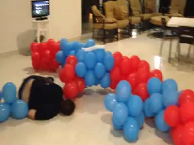 Jumping On Balloons Big Fail