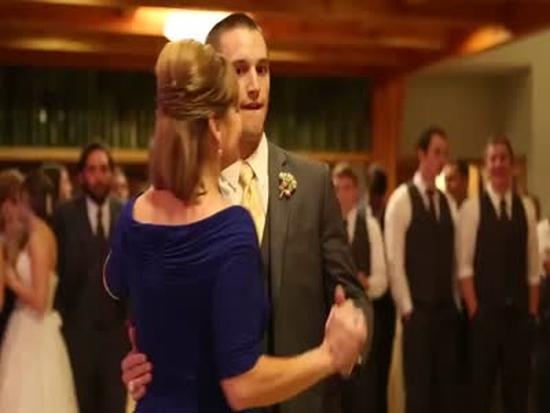 Amazing Mother And Son Wedding Dance