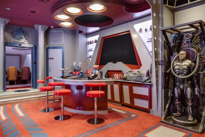 This House Has A Star Trek And A Call Of Duty Room (23 pics)