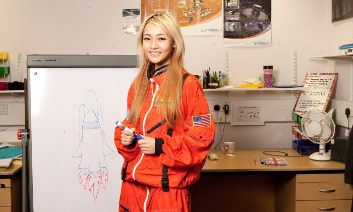Maggie Lieu Wants To Go To Mars Would You Send Her? (2 pics)