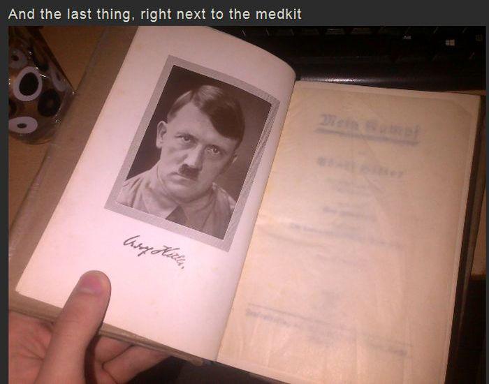 German Medical Kit Hidden In The Attic (6 pics)