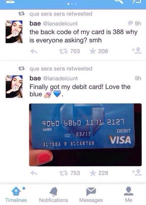 New Credit Card (2 pics)