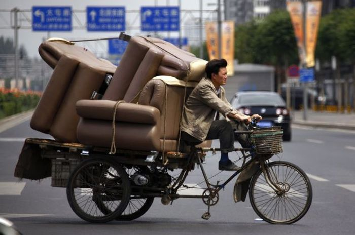 The Strangest Transportation Methods Ever (50 pics)