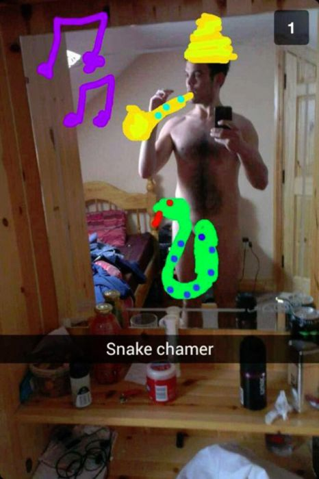 Private Snapchat Photos That Went Public (20 pics)