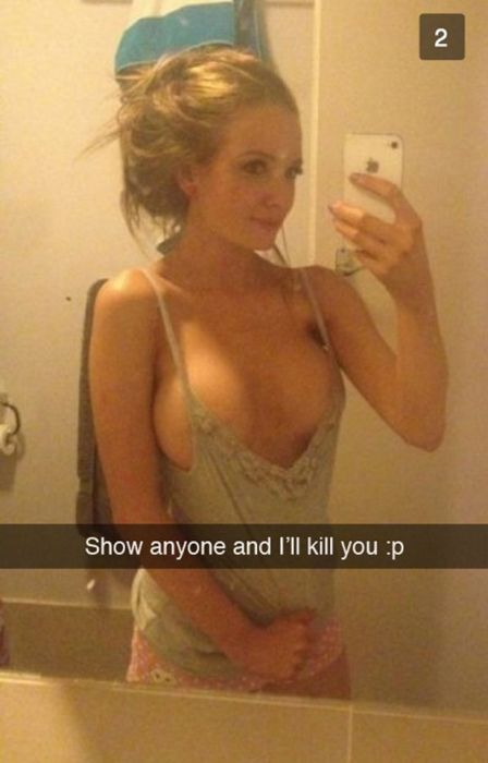 Private Snapchat Photos That Went Public (20 pics)