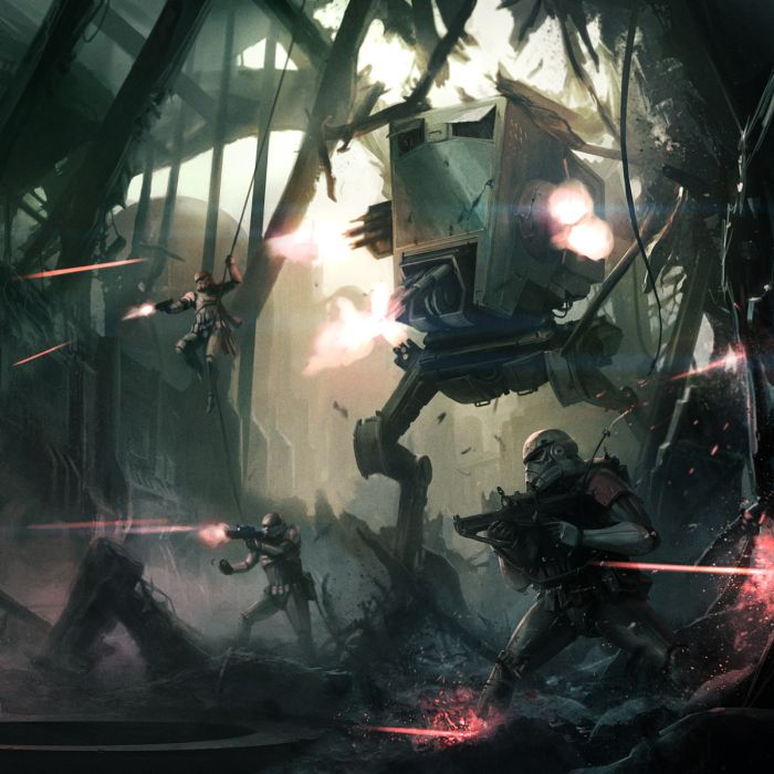 Star Wars Art That Is Out Of This World (33 pics)