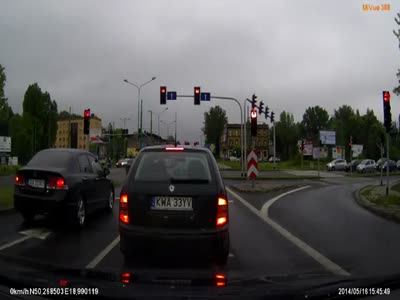 Wrong Way To Pass The Crossroad
