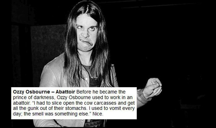 See What Musicians Did For Work Before They Made It (27 pics)