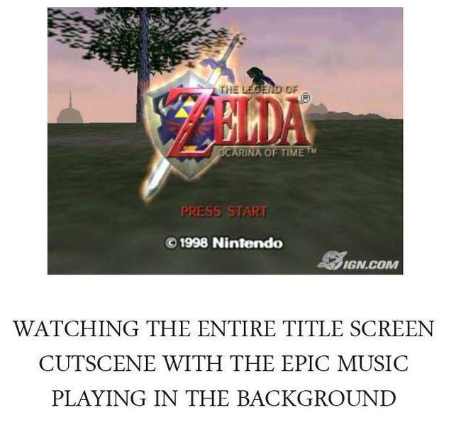 Get Nostalgic With Legend Of Zelda: Ocarina Of Time (25 pics)