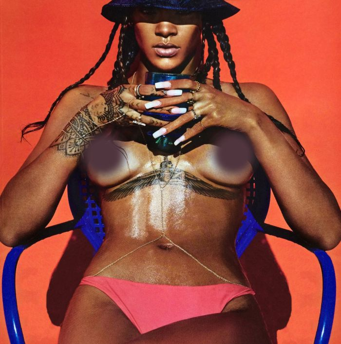 These Pictures Of Rihanna Will Make You Say Damn (7 pics)