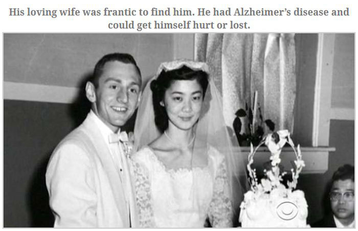 Man With Alzheimer's Comes Home And Brings Flowers (4 pics)