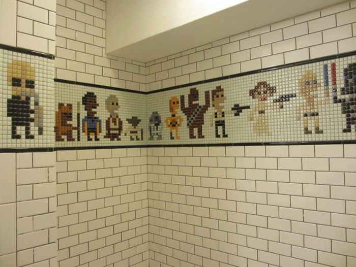 You Wish You Could Use This Star Wars Shower (21 pics)