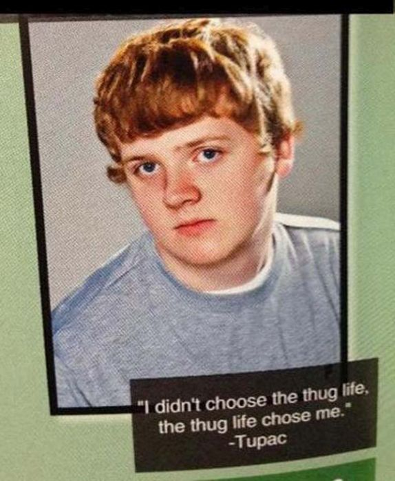Hilarious Quotes From The School Yearbook (21 pics)
