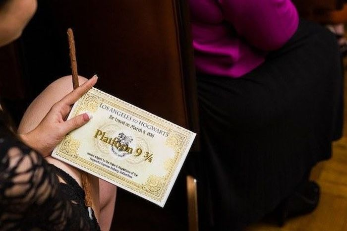 This Harry Potter Theme Wedding Is Magical (28 pics)